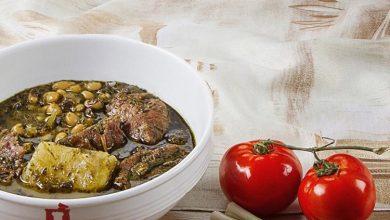 تصویر از طرز تهیه آبگوشت یخنی بادمجان همدان