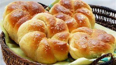 تصویر از طرز تهیه نان شیرمال ترکی در منزل
