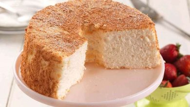 تصویر از کیک غذای فرشته؛ طرز تهیه کیک خوراک فرشته
