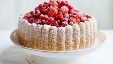 تصویر از کیک شارلوت؛ طرز تهیه کیک شارلوت سلطنتی