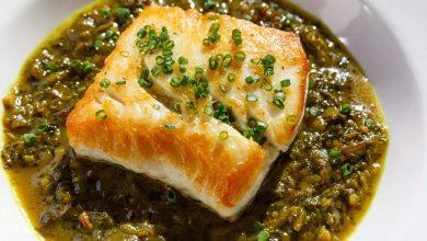 طرز تهیه قلیه ماهی با رب انار