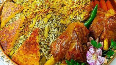تصویر از طرز تهیه باقالی پلو با گوشت مجلسی و خوشمزه