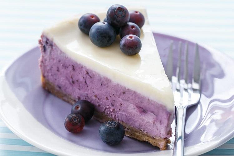 چیز کیک بلوبری