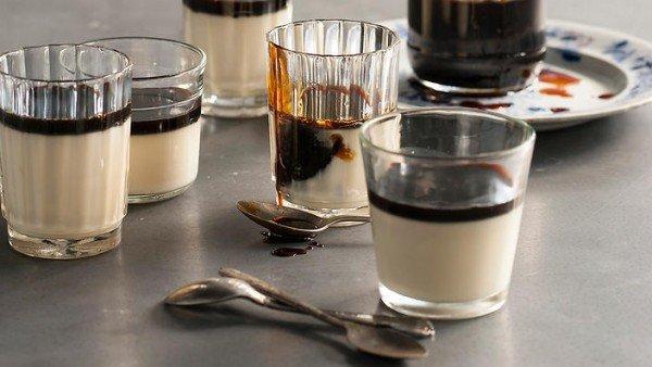 شیر سویا با قهوه