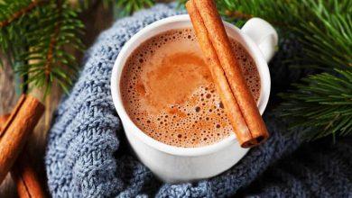 تصویر از طرز تهیه هات چاکلت با دارچین؛ شکلات داغ دارچینی