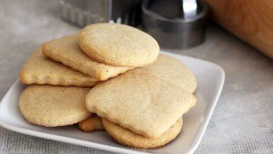 تصویر از طرز تهیه شیرینی شکری (بیسکوییت شکری) ساده در فر