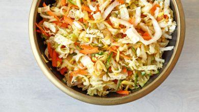 تصویر از سالاد کلم؛ طرز تهیه سالاد کلم برگ با هویج خوشمزه