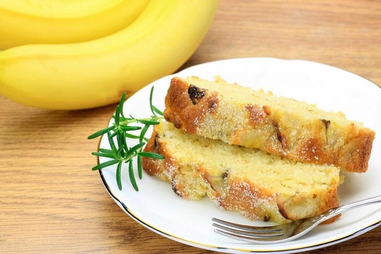 کیک پوند موزی