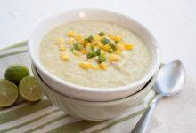تصویر از سوپ ذرت؛ طرز تهیه سوپ ذرت خوشمزه و مجلسی
