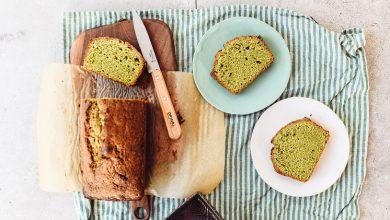 کیک پوند چای سبز
