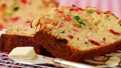 تصویر از کیک میوه؛ طرز تهیه کیک میوه ای ساده و خوشمزه