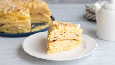 تصویر از شیرینی ناپلئونی؛ طرز تهیه شیرینی ناپلئونی با خمیر هزارلا