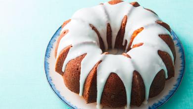 تصویر از کیک حلقه ای؛ طرز تهیه کیک حلقه ای ساده