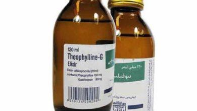 تصویر از شربت تئوفیلین جی؛ موارد مصرف، نحوه مصرف و عوارض جانبی آن