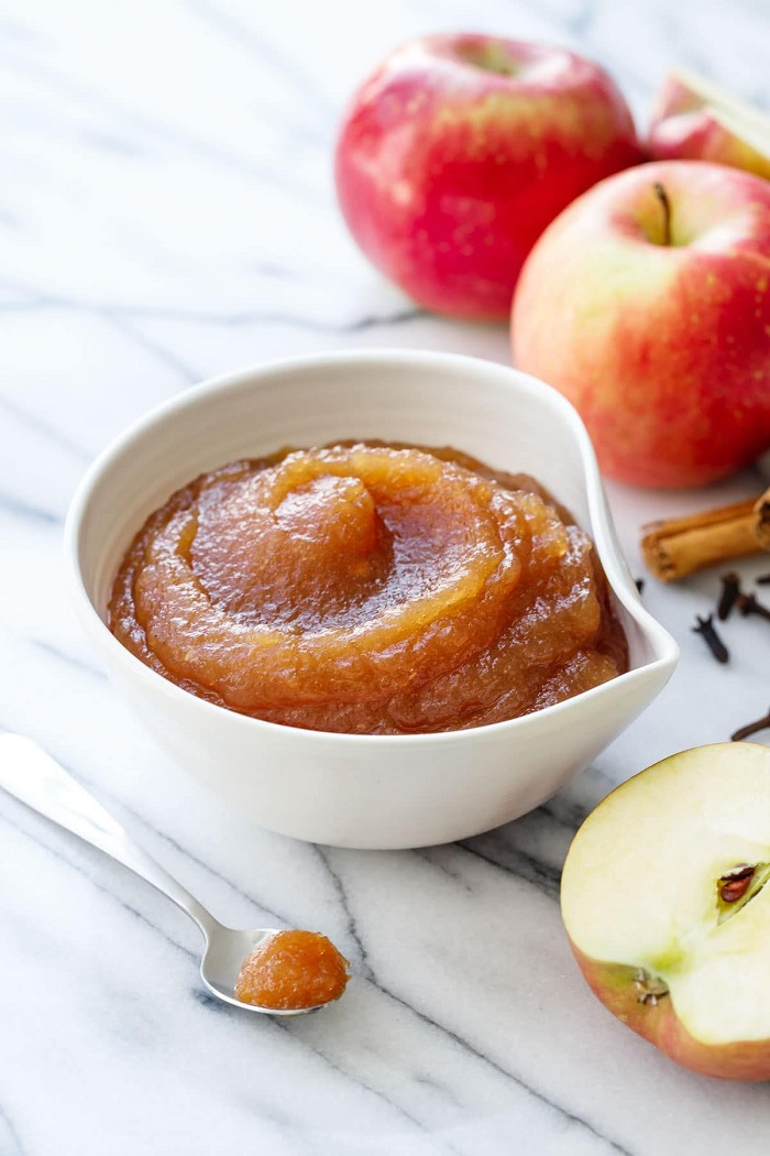 طرز تهیه کره سیب