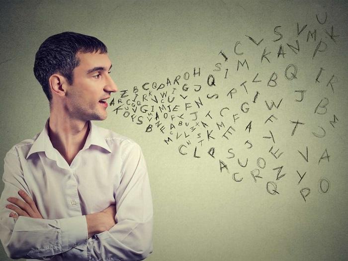 لکنت زبان هنگام حرف زدن