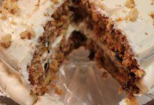 تصویر از طرز تهیه کیک هویج و گردو؛ مغذی و خوشمزه