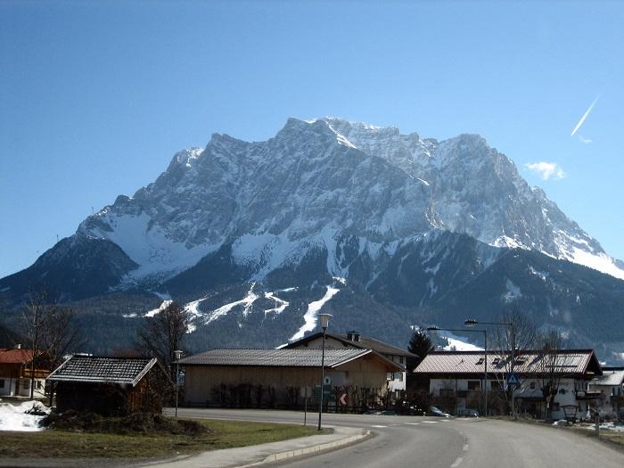 کوه Zugspitze