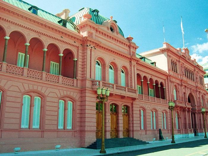 خانه صورتی (Casa Rosada)