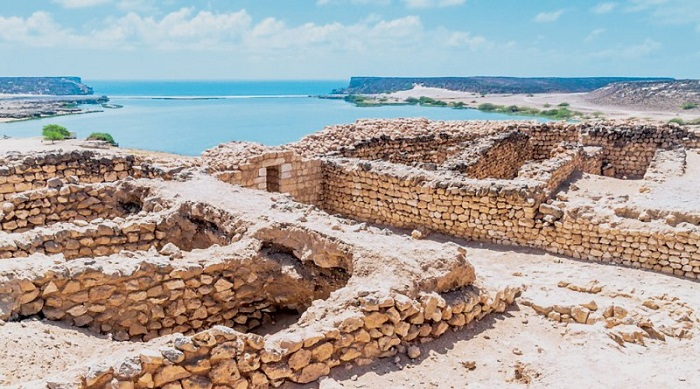 پارک باستان شناسی Sumhuram در کشور لبنان