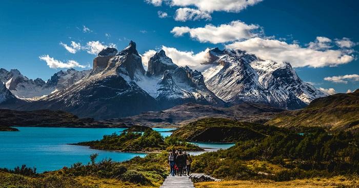 پارک ملی تورس دل پین (Torres del Paine) در کشور شیلی