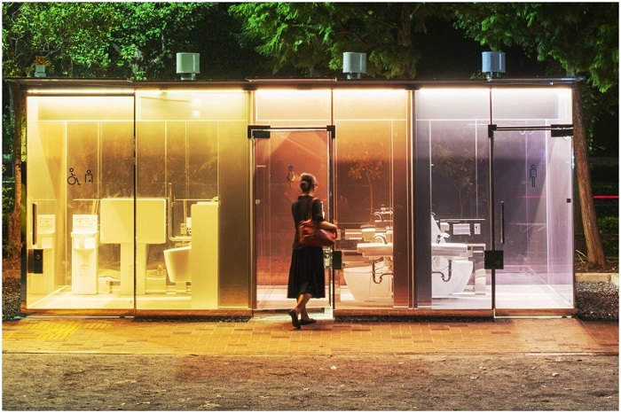 توالت شفاف: لوزان، سوئیس