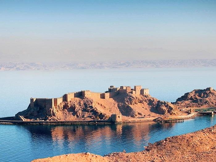 جزیره فراعنه در کشور مصر