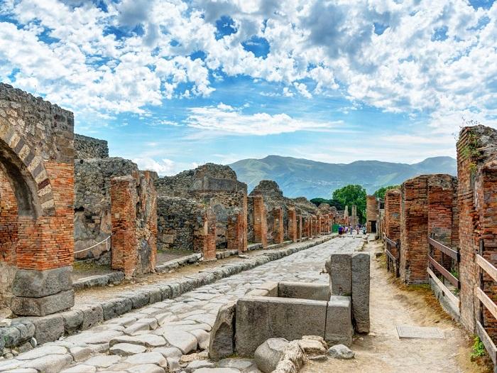 شهر پمپئی (Pompeii) در کشور ایتالیا