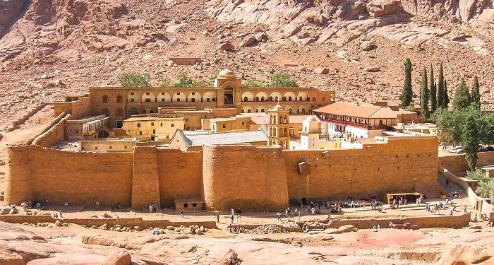 صومعه سنت کاترین (St. Catherine Monastery) در کشور مصر
