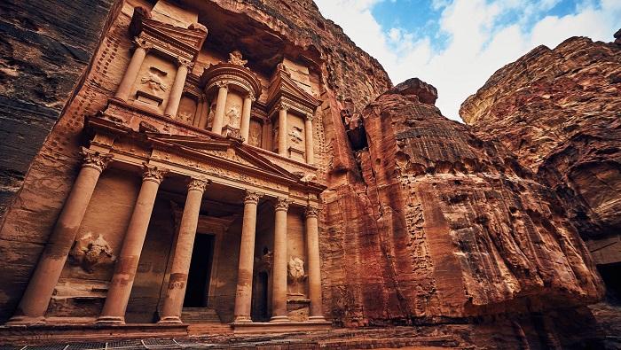شهر گل رز پترا (Rose City of Petra) در کشور اردن