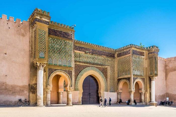 دروازه باب منصور (Bab Mansour) در کشور مراکش