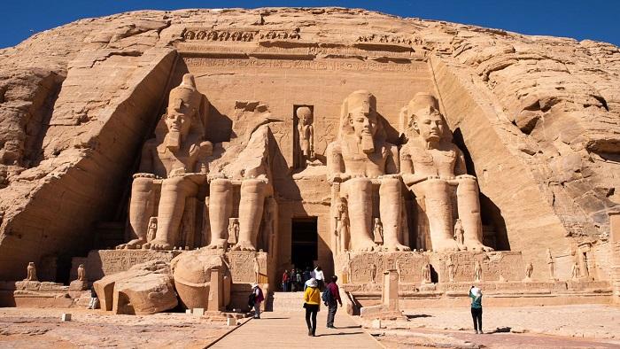بنای تاریخی Abu Simbel در مصر