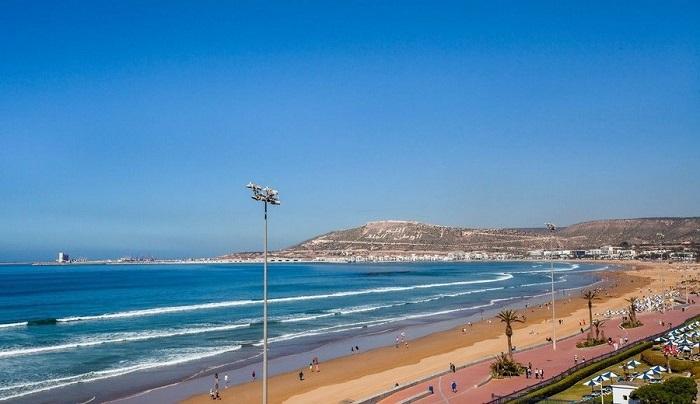 ساحل آگادیر (Agadir) در کشور مراکش