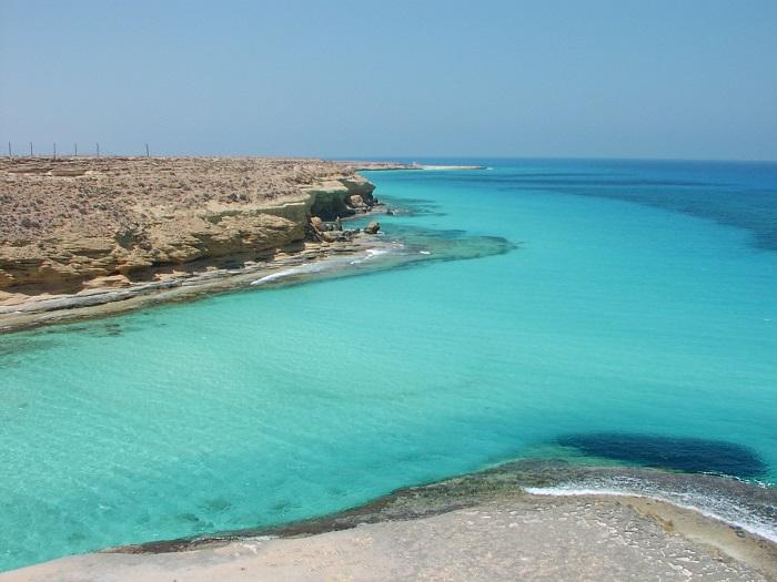 ساحل اگیبا (Agiba) در کشور مصر