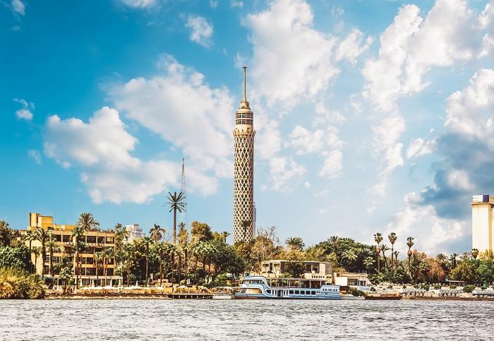 برج قاهره (Cairo Tower) در کشور مصر
