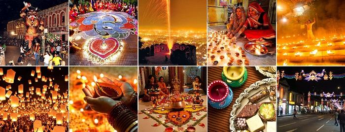 جشن دیپاوالی یا دیوالی (Deepawali یا Diwali) در هند