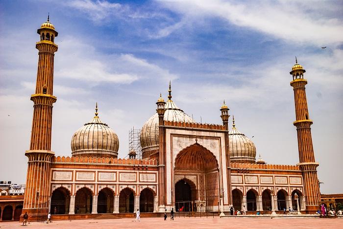 مسجد جامع (Jama) در هندوستان