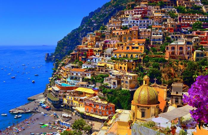 شهر پوزیتانو (Positano) در کشور ایتالیا