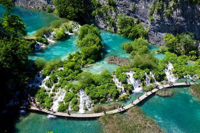 دریاچههای پلیتویس (Plitvice) در کرواسی