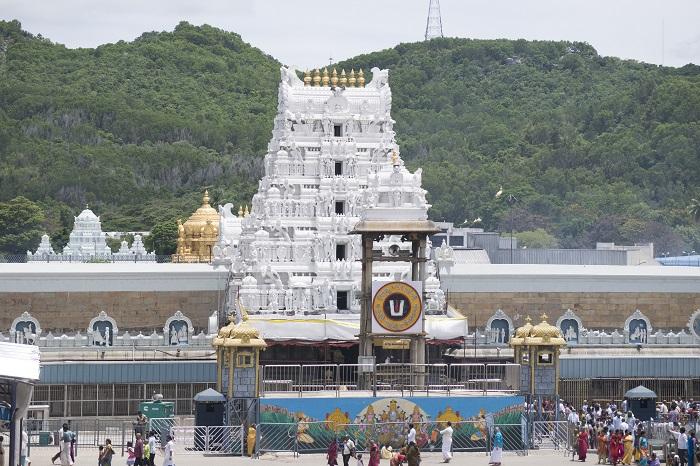 معبد تیروپاتی (Tirupati) در هندوستان