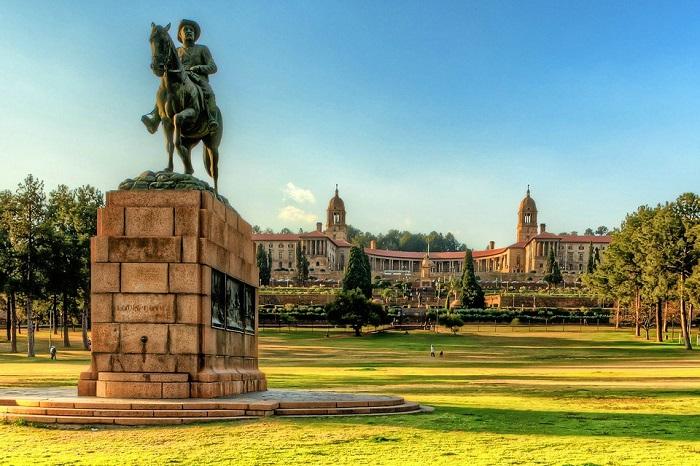 ساختمانهای اتحادیه در کشور آفریقای جنوبی