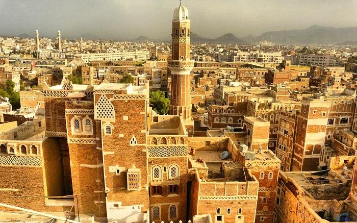 شهر قدیمی صنعا (Sana'a) در کشور یمن
