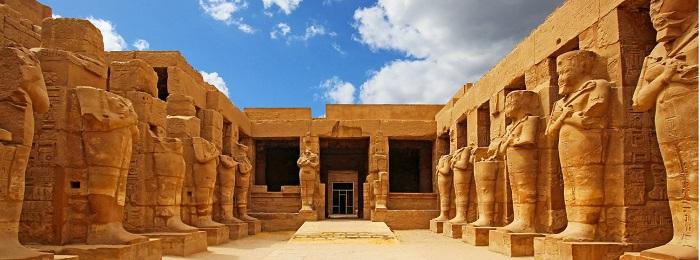 معبد کارناک (Karnak) در کشور مصر