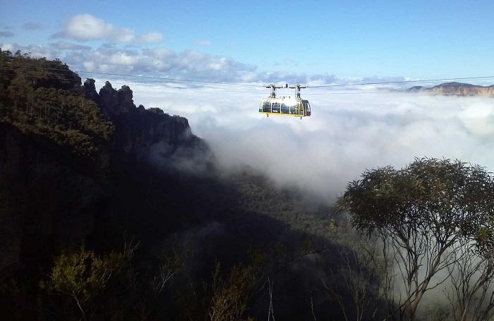 کوههای آبی در کشور استرالیا