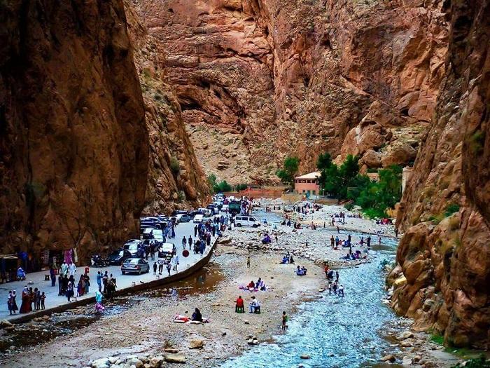 تنگه تودرا گورج (Todra Gorge) در کشور مراکش