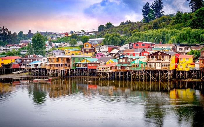 جزیره Chiloé در کشور شیلی