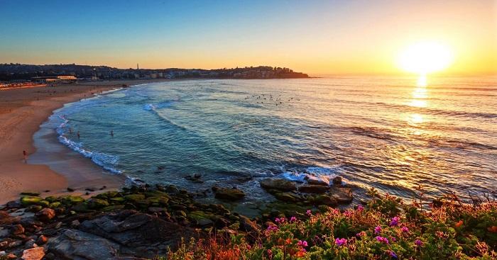 ساحل بوندی در کشور استرالیا