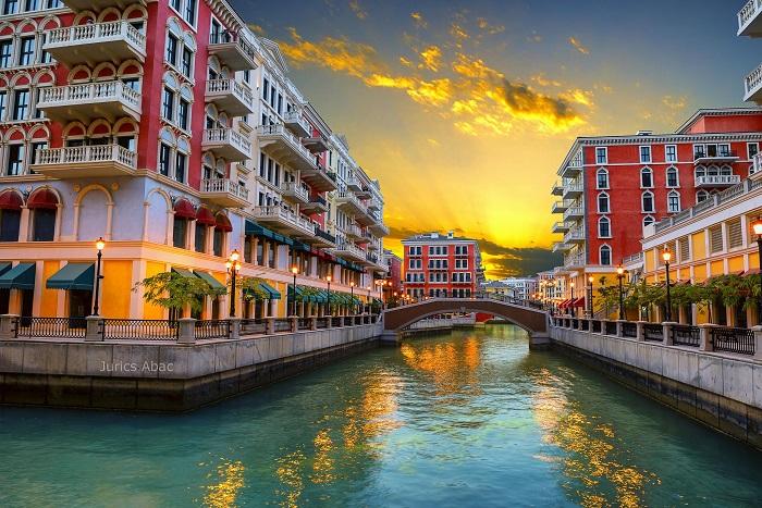 کوارتیر قنات (Qanat Quartier) در کشور قطر