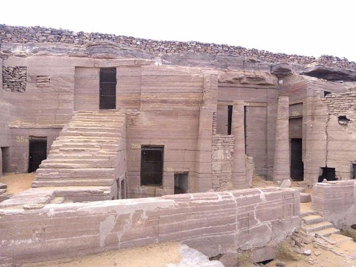 مقبره اشراف در کشور مصر