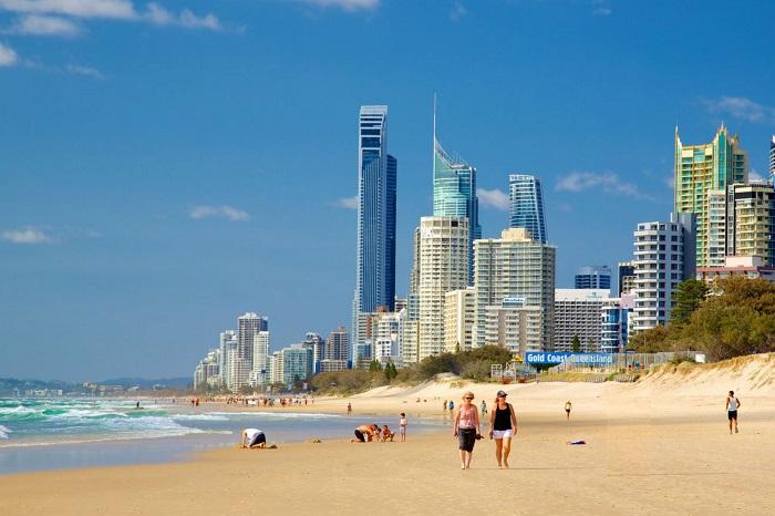 ساحل طلا (Gold) در کشور استرالیا
